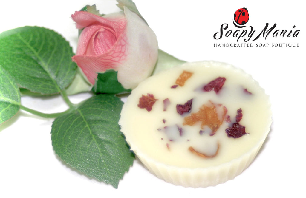 English Rose Lotion Bar - SoapyMania