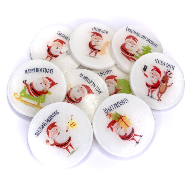 Christmas Santa Picture Soap