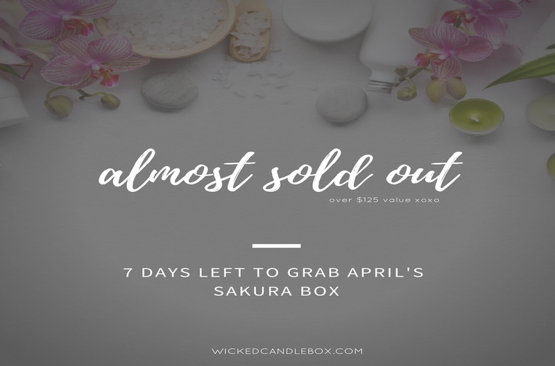 Almost Sold Out: April Sakura Box