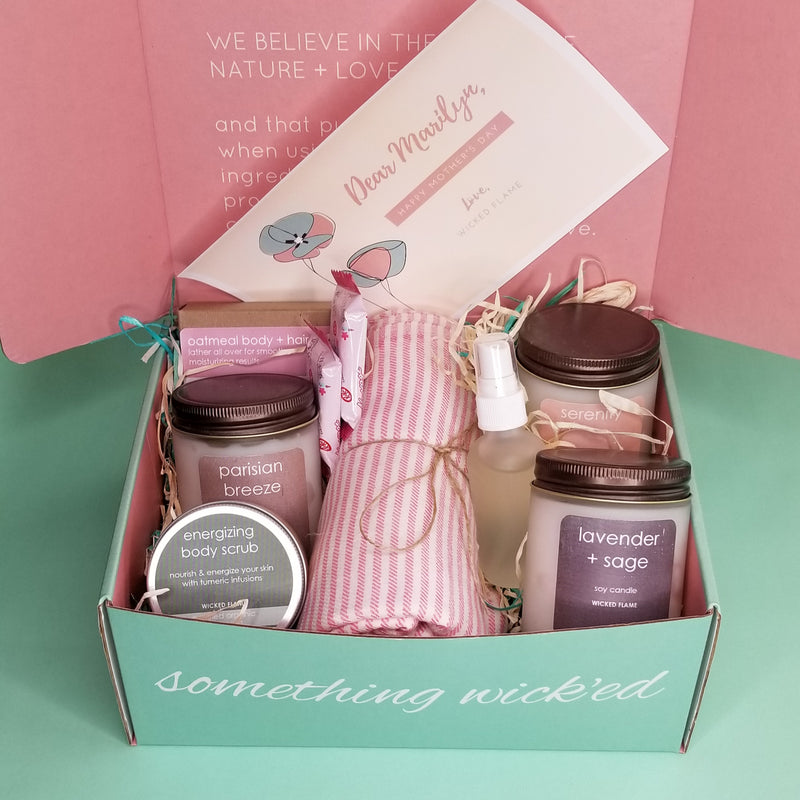 Candle Subscription + Spa Box Spoilers: Serenity Box (May)