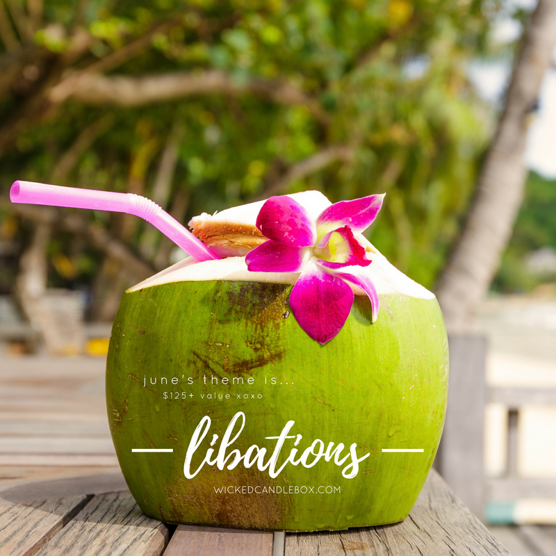 Announcing June's Theme: Libations!