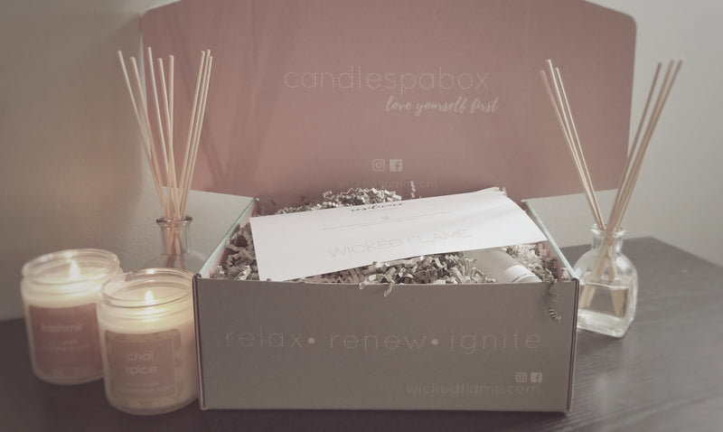 Inside September's Resilience Candle Subscription + Spa Box