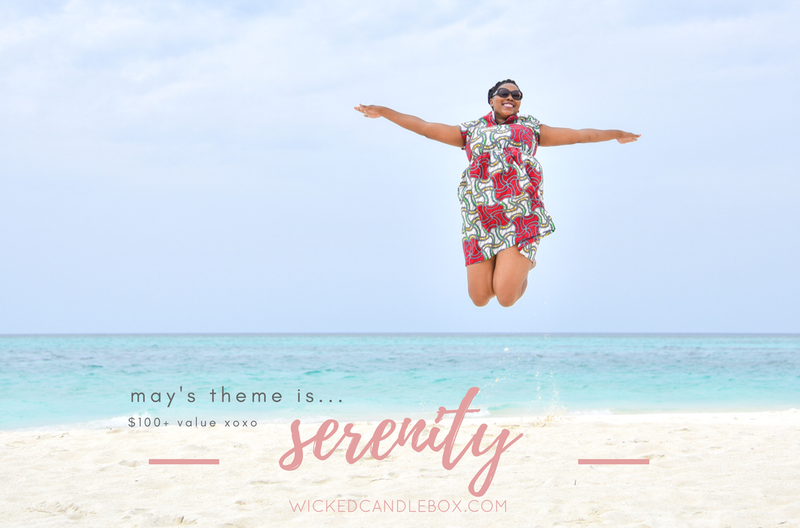 Announcing May's Theme: Serenity!