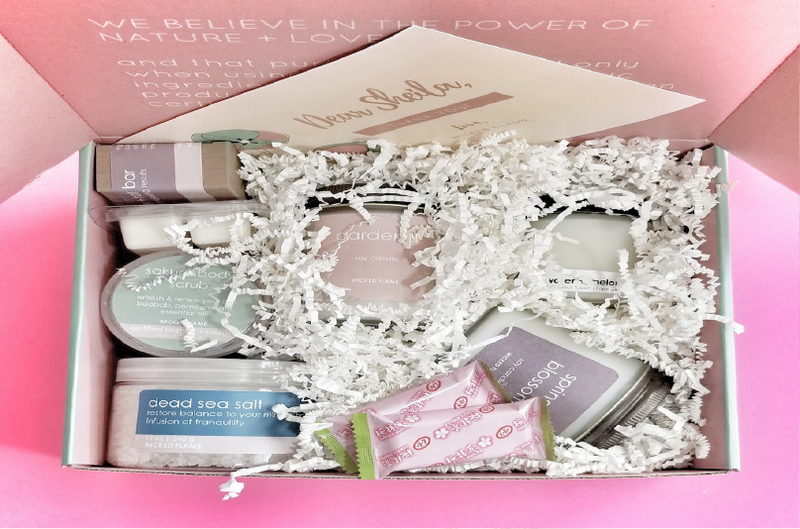 Candle Subscription + Spa Box Spoilers: Sakura Box (April)