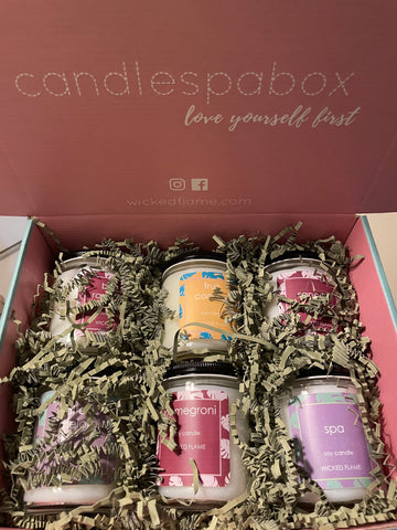 April Every Room Candle Box