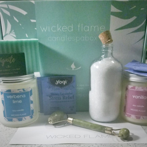 candle + spa box by wicked flame