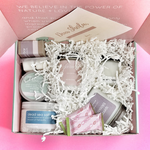 candle subscription + spa subscription box by wicked flame