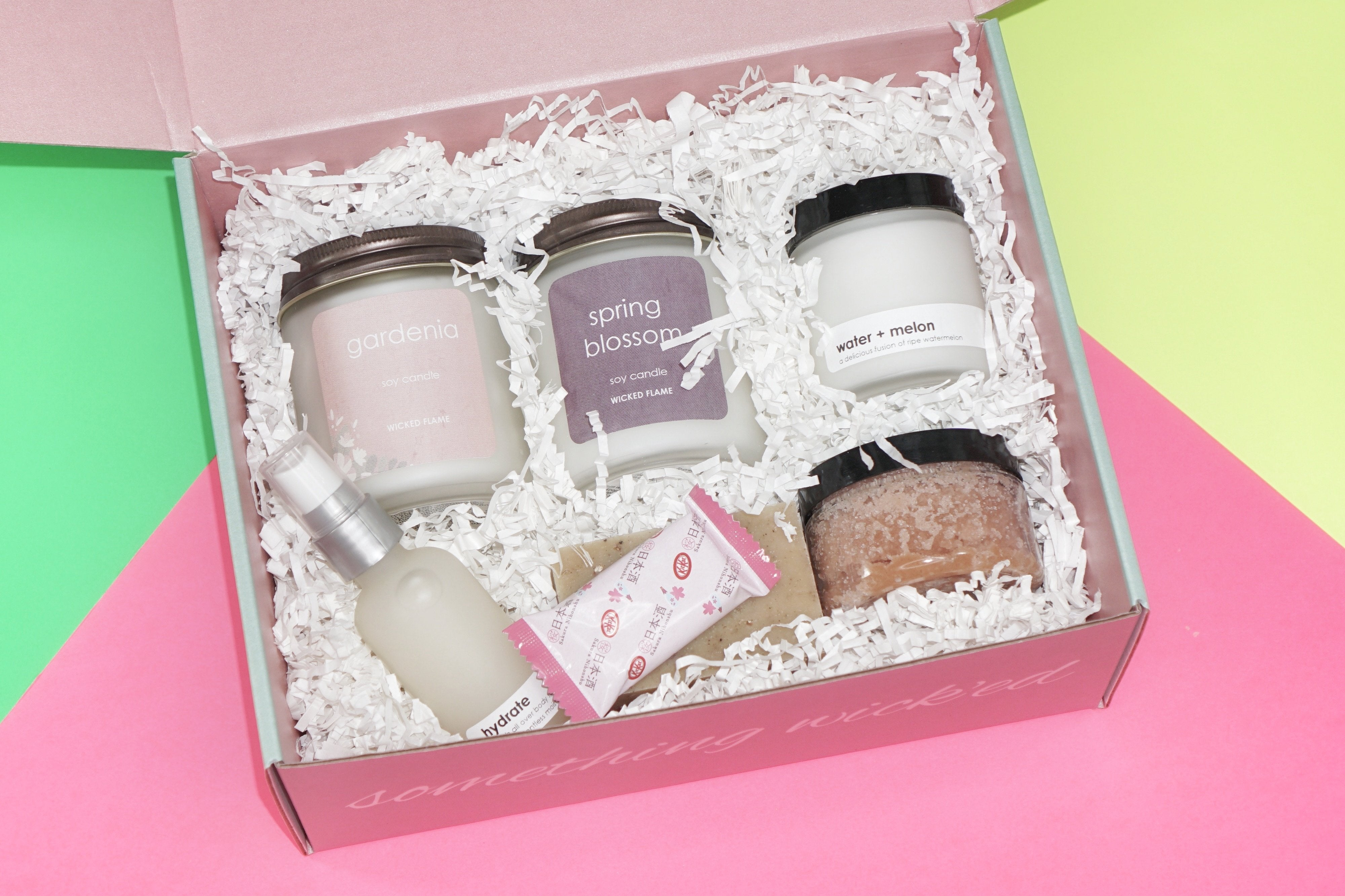 luxury candle subscription box