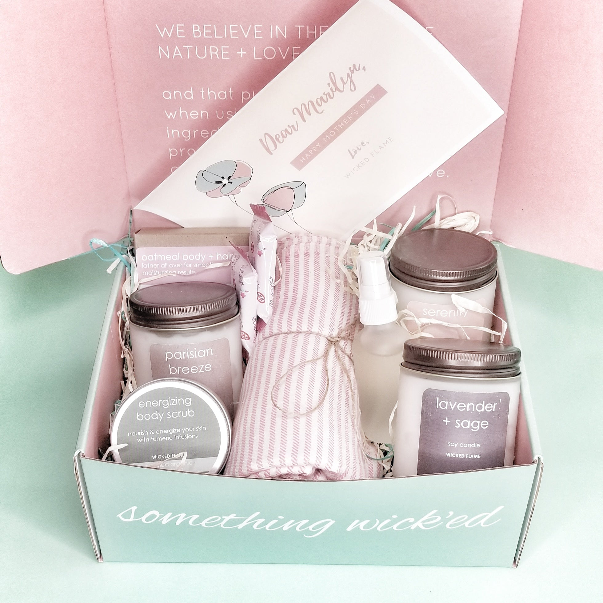 Candle Subscription + Spa Box Gifts   Luxury Gift Box ...