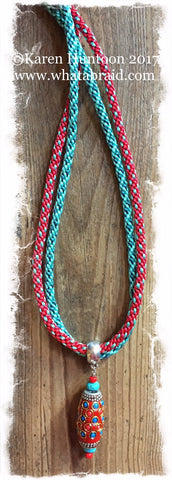 ***Double Fun Braided Necklace Kit - SOLD OUT