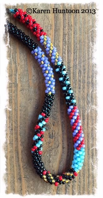 *Painting with Beads Necklace Kits - Mixed Patterns