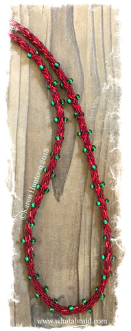****Kusari Tsunagi Christmas Lights Necklace Kit - Holiday