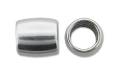 Slider Smooth Round, Antique Silver