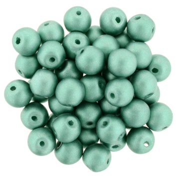 Bauble Beads, 6mm Top Drilled - Teal