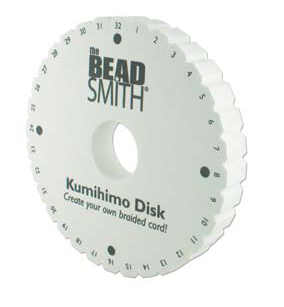 "Beadsmith 32-Slot THICK 6"" diameter Disk"