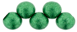 Bauble Beads, 6mm Top Drilled - Saturated Metallic Lush Meadow