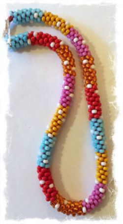 Painting with Beads Necklace Kits - Color Block