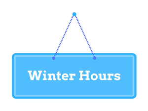 Shop Opening – Winter Hours