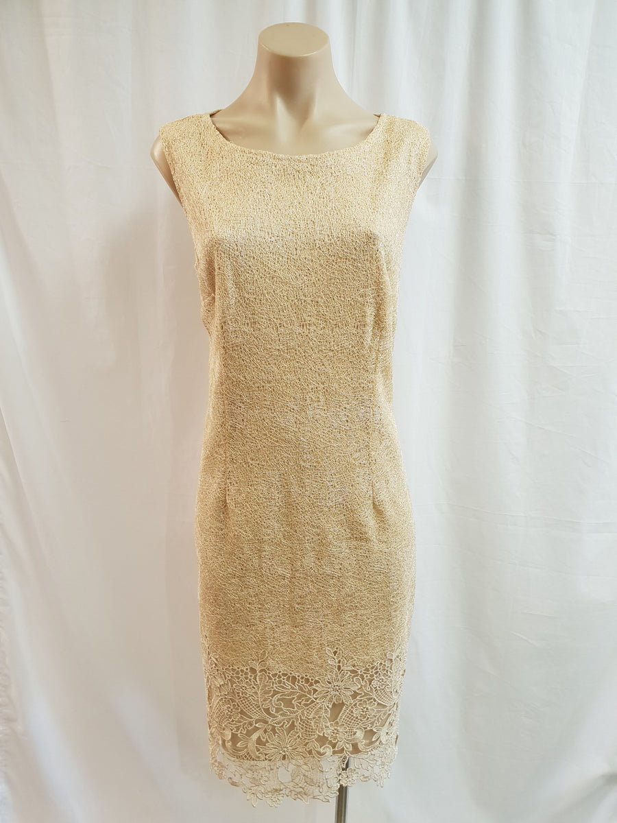 Yesadress Gold Dress and Jacket