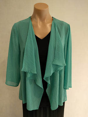 Cachet Chiffon Jacket - Fashion Focus