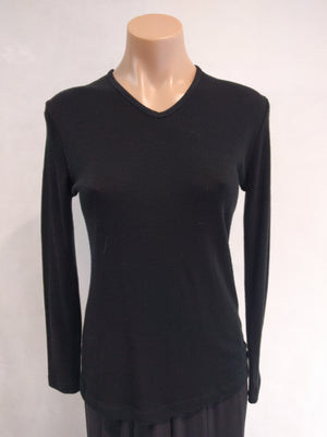 Bay Road V Neck Merino Top (BR 815)