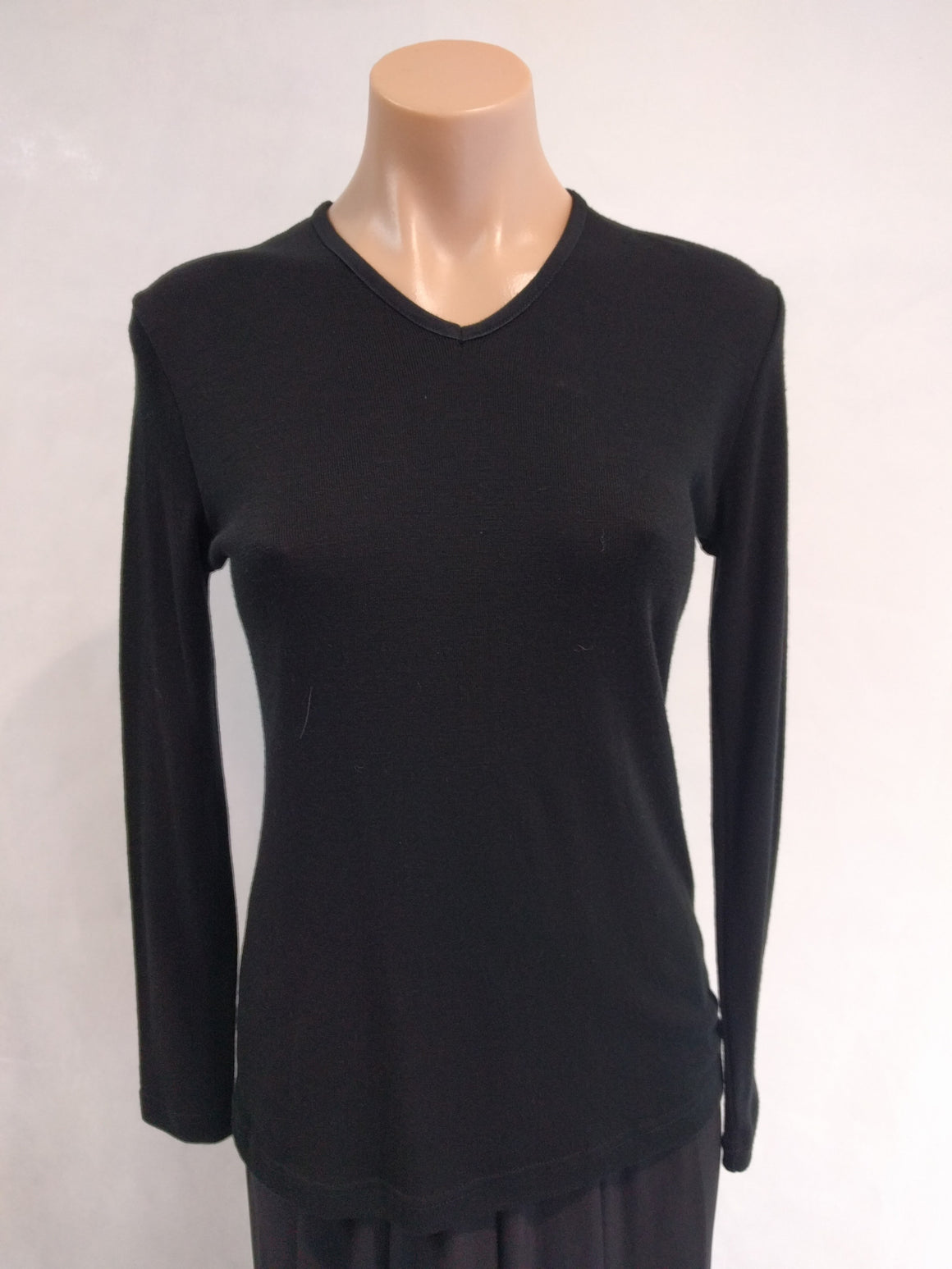 Bay Road V Neck Merino Top (BR 815) - Fashion Focus