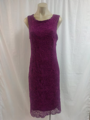 Yesadress Mulberry Lace Dress