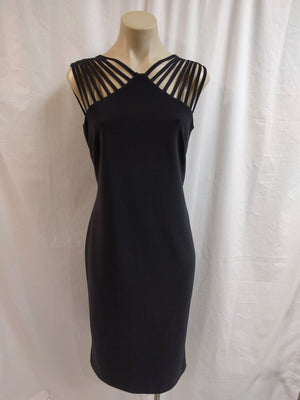 Frank Lyman Black Dress - Fashion Focus