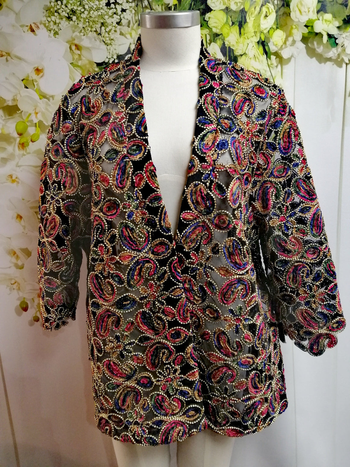 Swish Bollywood Jacket - Fashion Focus