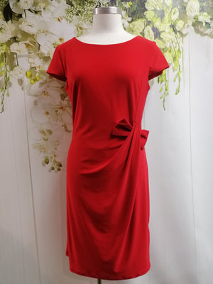 Frank Lyman Knit Dress - Tomato