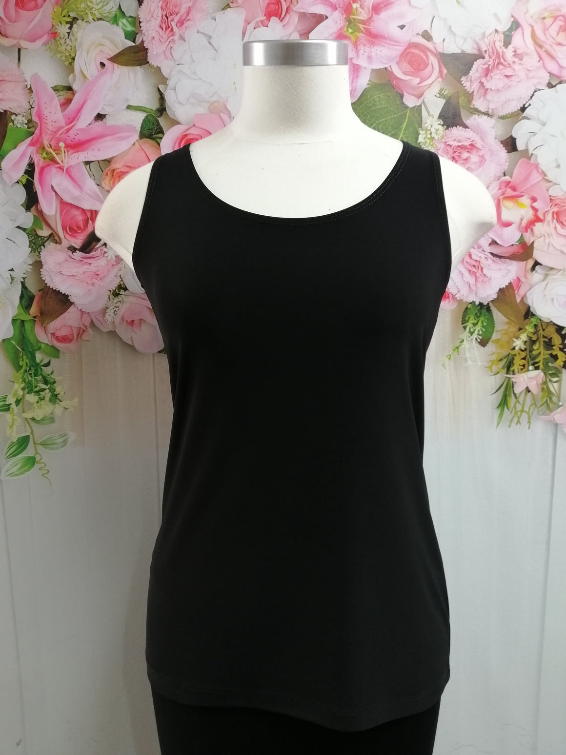Picadilly Cami - Black - Fashion Focus