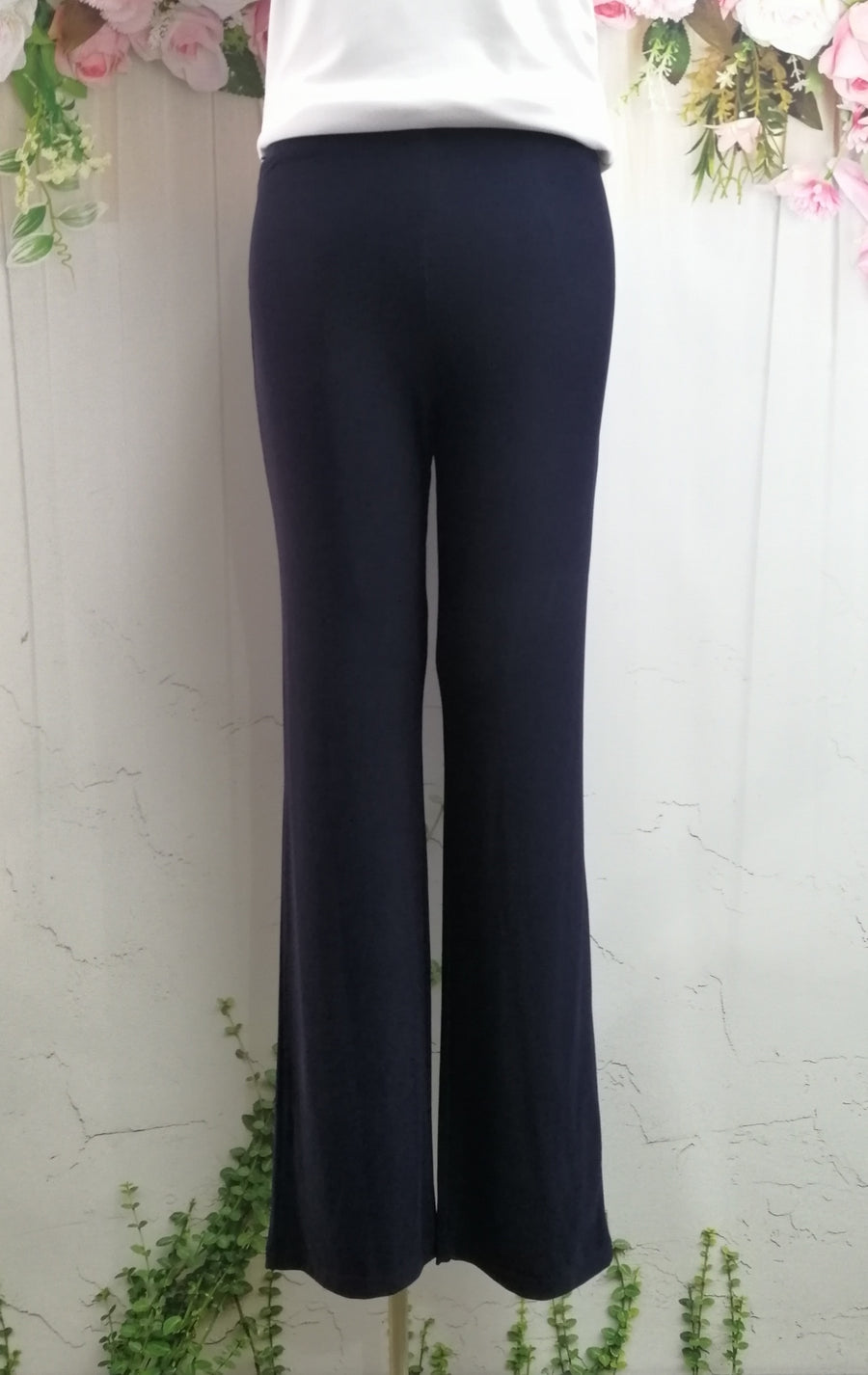 Picadilly Solidity Pant - Navy - Fashion Focus