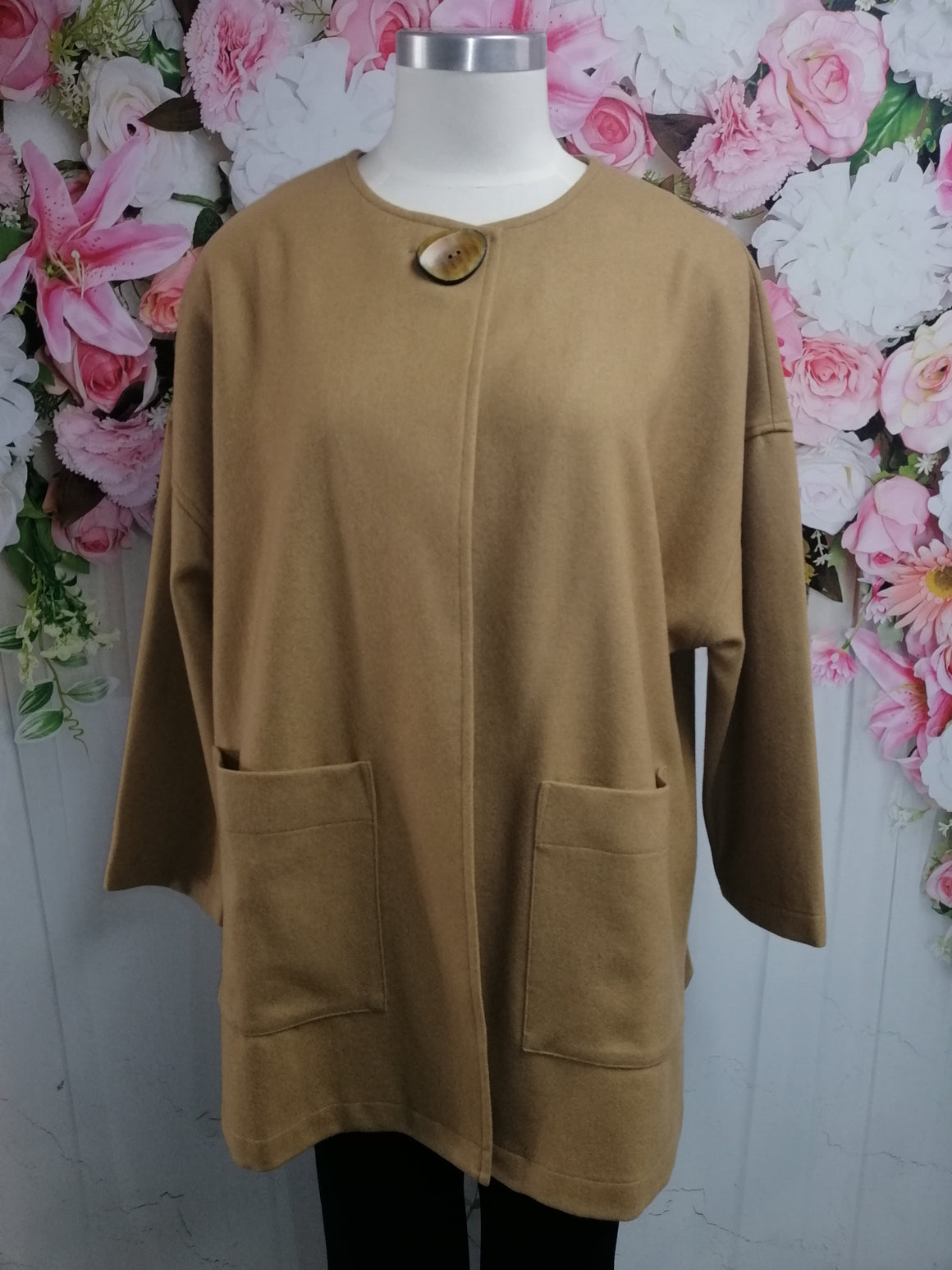 Bittermoon Zaria Coat - Camel - Fashion Focus