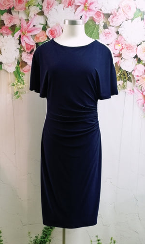 Frank Lyman Dress - Midnight/Blue - Fashion Focus
