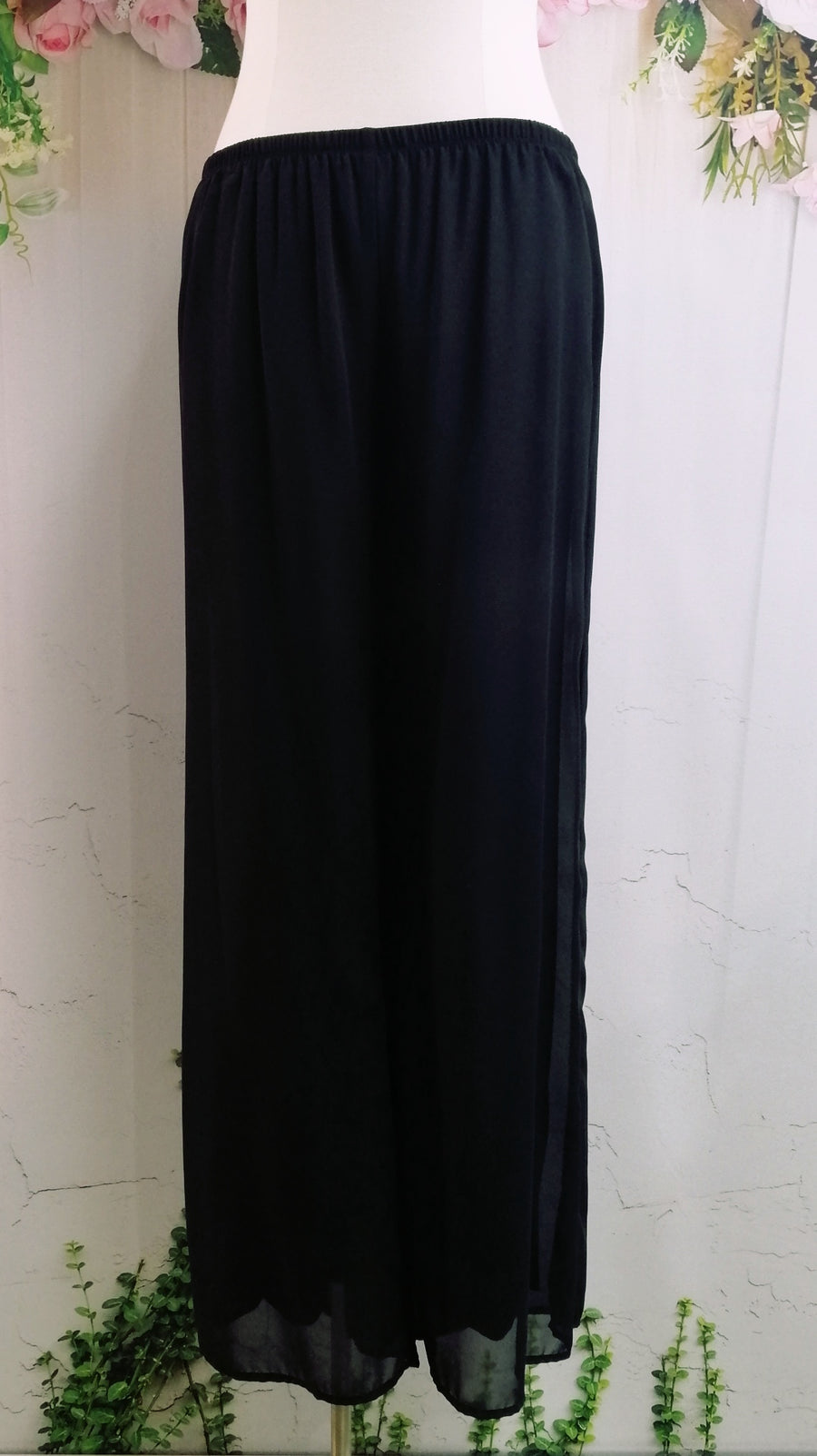 OPM Chiffon Pant - Black - Fashion Focus