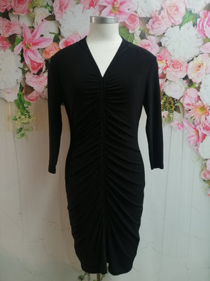 Frank Lyman Black Knit Dress - Fashion Focus