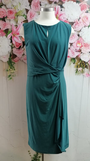 OPM Drape Dinner Dress - Mint - Fashion Focus