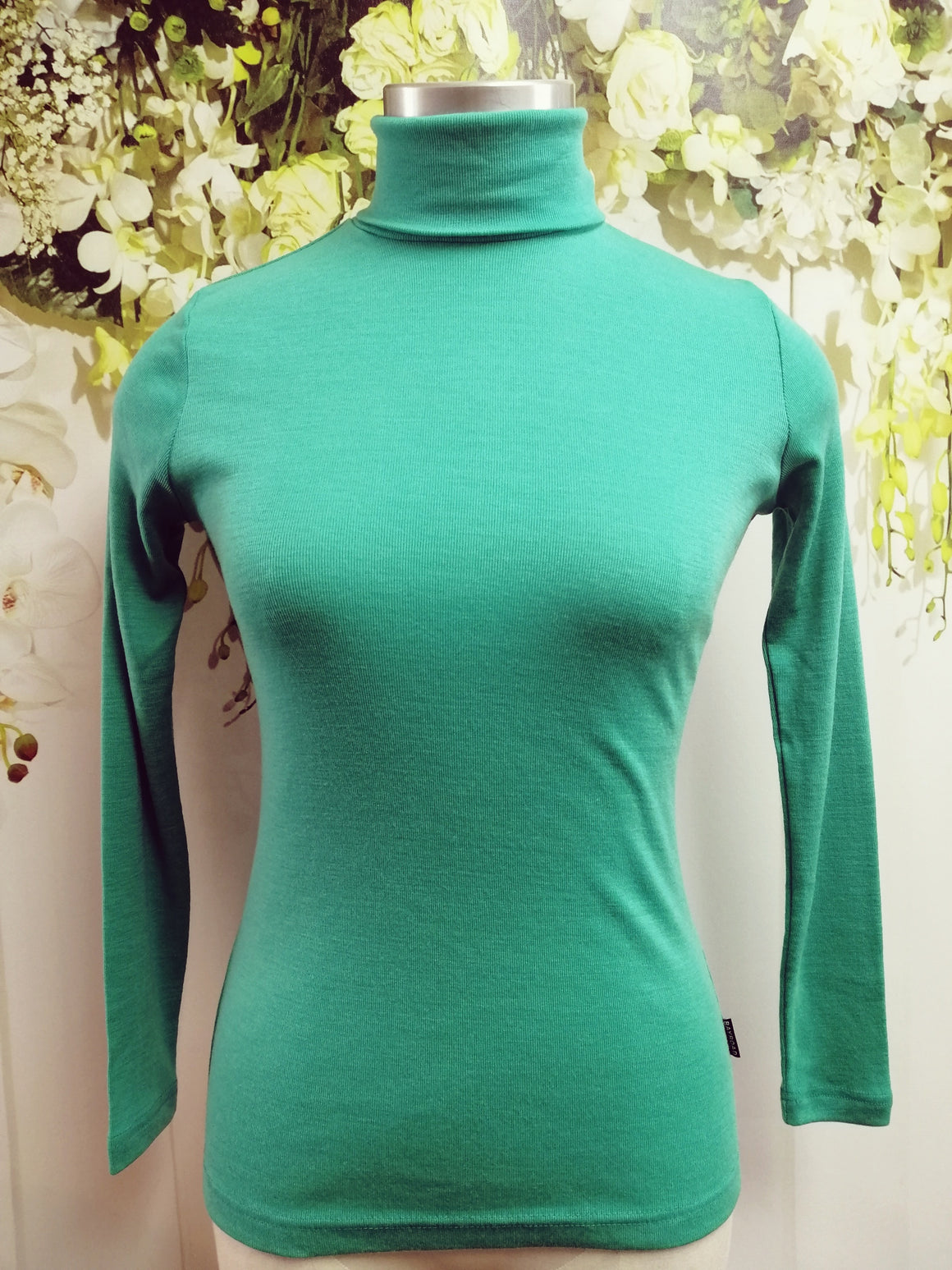 Bay Road Merino Polo Neck - Niagara (BR716) - Fashion Focus