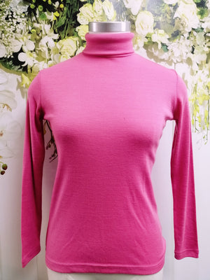 Bay Road Merino Polo Neck - Gelato (BR716) - Fashion Focus