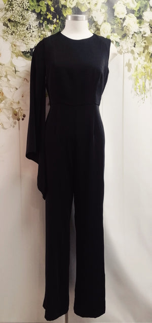 Honey and Beau Night Fever Jumpsuit - Black - Fashion Focus