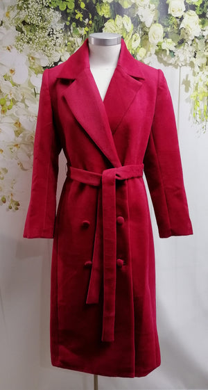 Pink Ruby Night Sky Coat - Cherry (PC211009) - Fashion Focus