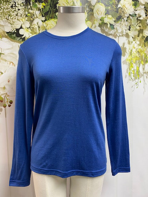Noble Ibis Crew Neck Top - Biscay NW7118 - Fashion Focus