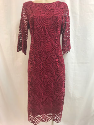 Yesadress 3/4 Sleeve Lace Dress - Fashion Focus