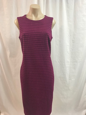 Picadilly Mulberry Shift Dress - Fashion Focus