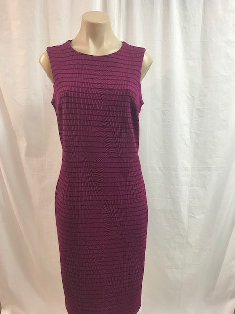 Picadilly Mulberry Shift Dress