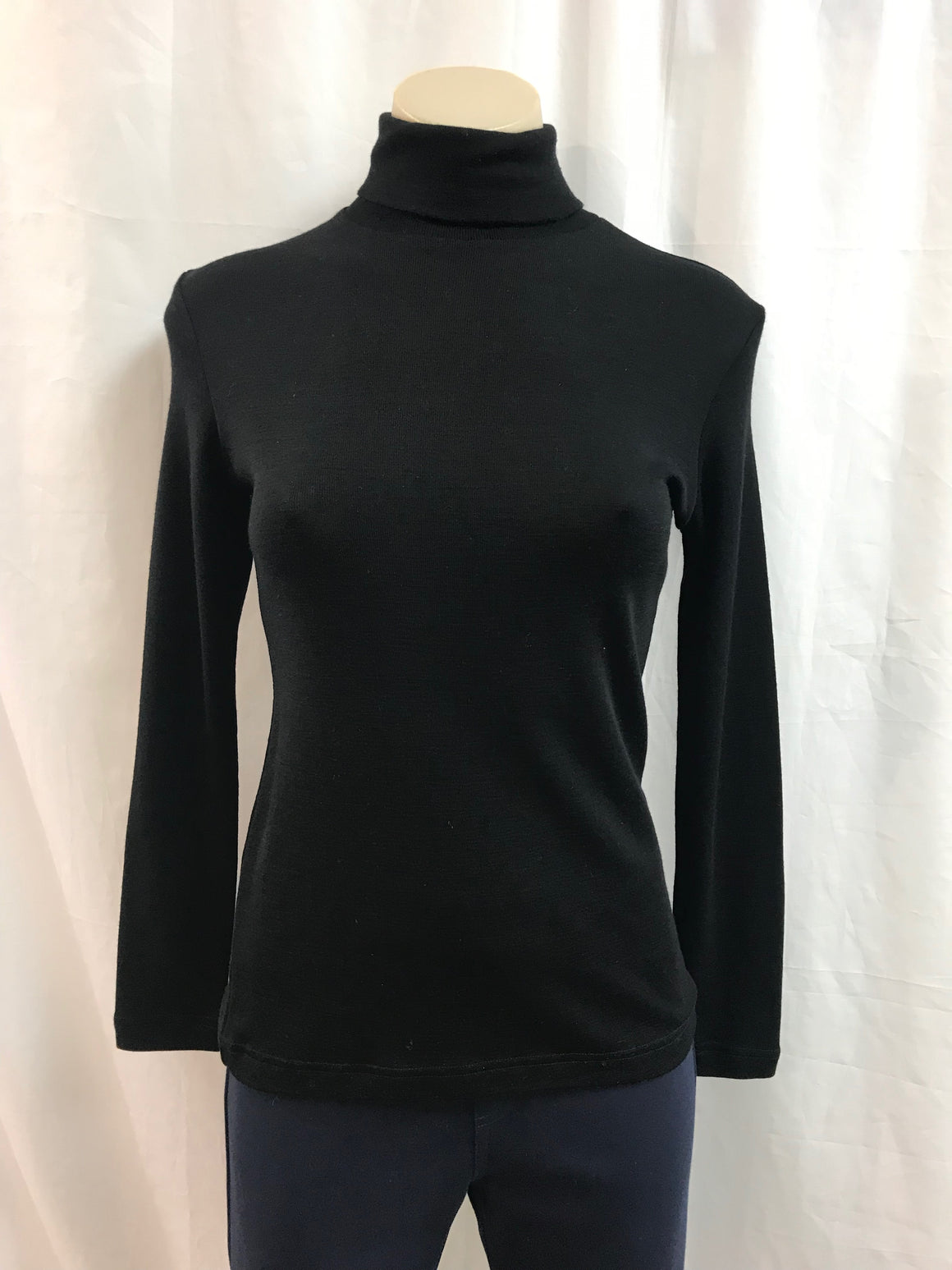 Bay Road Polo Neck - Black - Fashion Focus