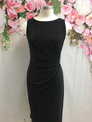 Picadilly Sleeveless Dress - Black - Fashion Focus