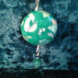 "#103  ""Galaxy"" Bead Pendant"