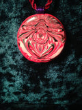 #115 Red Totem Pendant