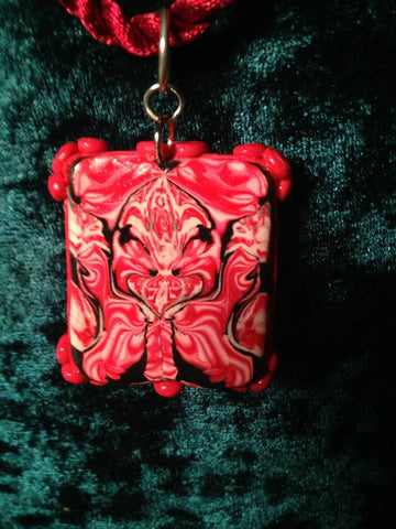 #116 Red Totem in Bezel